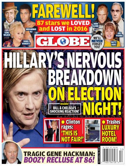 Globe December 16, 2016 00:00