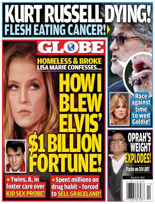 Globe Mar 13 2017