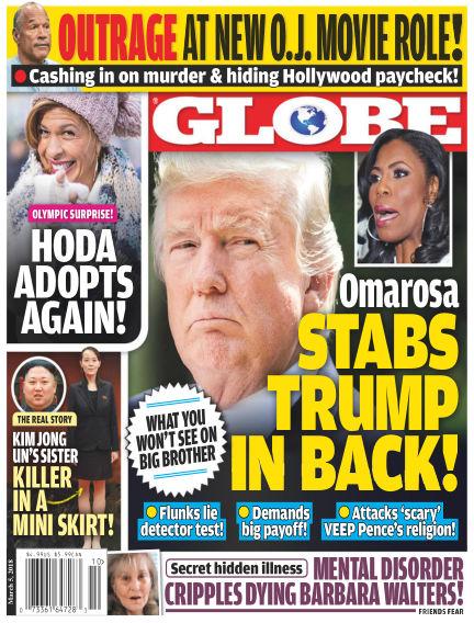 Globe February 23, 2018 00:00