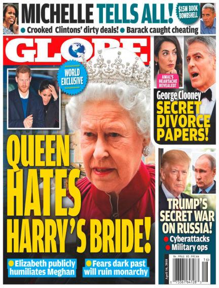 Globe April 06, 2018 00:00