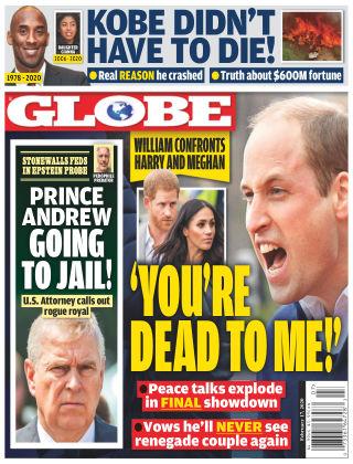 Globe Feb 17 2020
