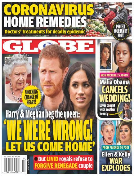 Globe March 27, 2020 00:00