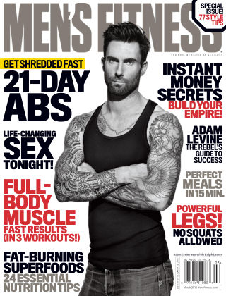 Men's Fitness March 2015