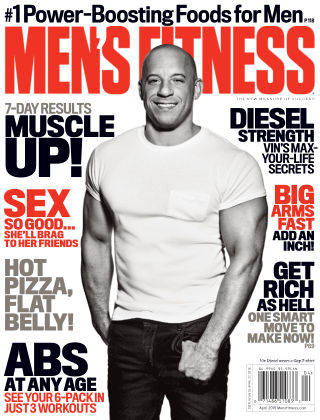 Men's Fitness April 2015