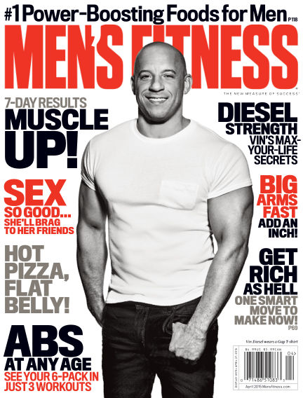 Men's Fitness March 20, 2015 00:00