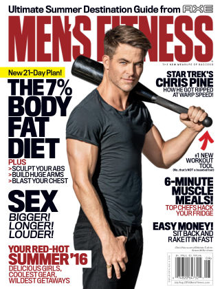 Men's Fitness Jul-Aug 2016