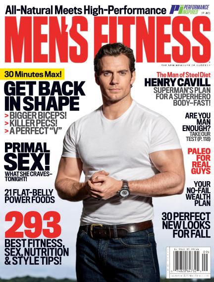 Men's Fitness August 05, 2016 00:00