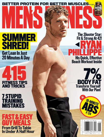 Men's Fitness May 19, 2017 00:00