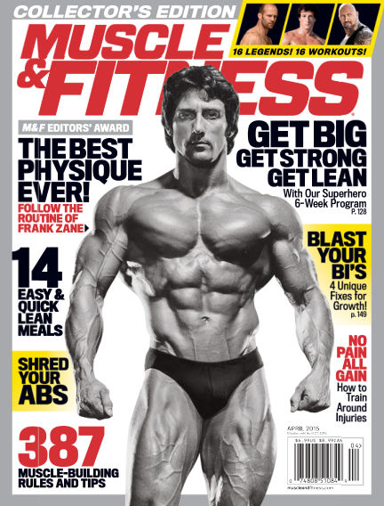 Muscle & Fitness March 27, 2015 00:00