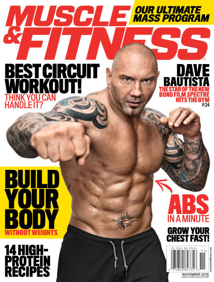 Muscle & Fitness October 30, 2015 00:00