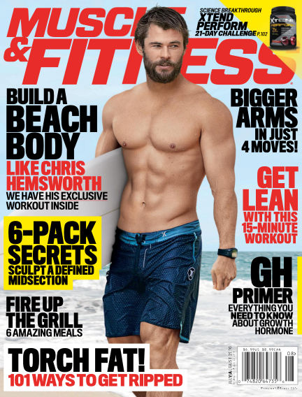 Muscle & Fitness July 01, 2016 00:00