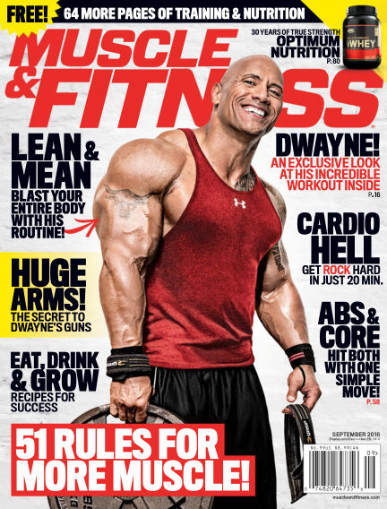 Muscle & Fitness August 19, 2016 00:00