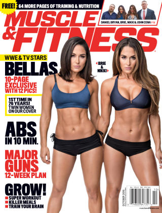 Muscle & Fitness Oct 2016