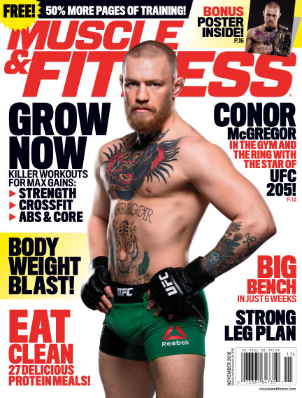 Muscle & Fitness October 28, 2016 00:00
