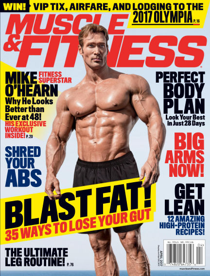 Muscle & Fitness March 24, 2017 00:00