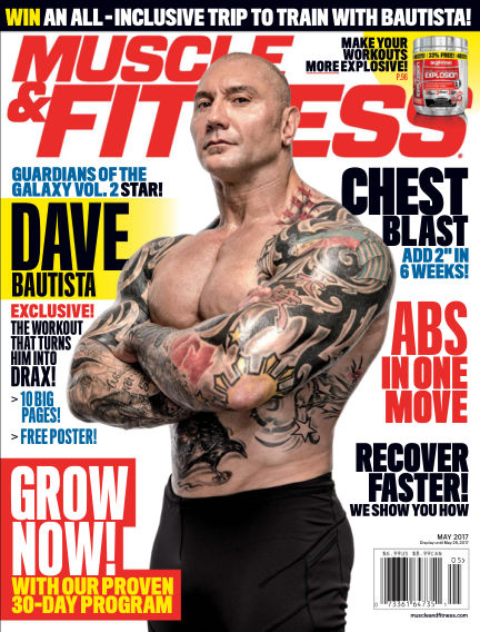 Muscle & Fitness April 21, 2017 00:00