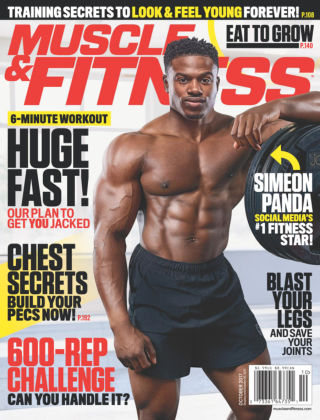 Muscle & Fitness Oct 2017