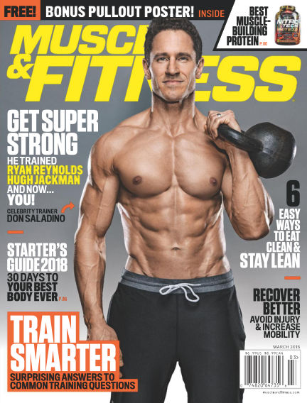 Muscle & Fitness February 26, 2018 00:00