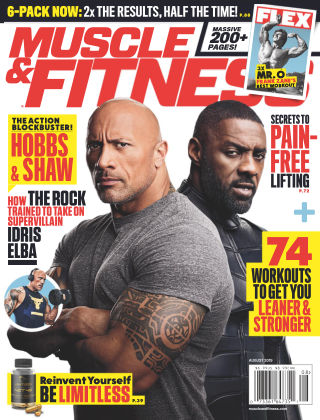 Muscle & Fitness Aug 2019