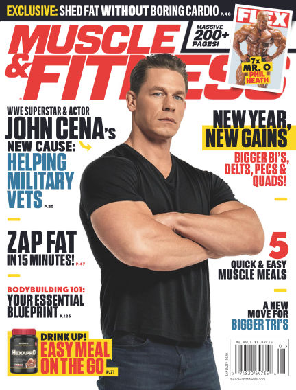 Muscle & Fitness December 13, 2019 00:00