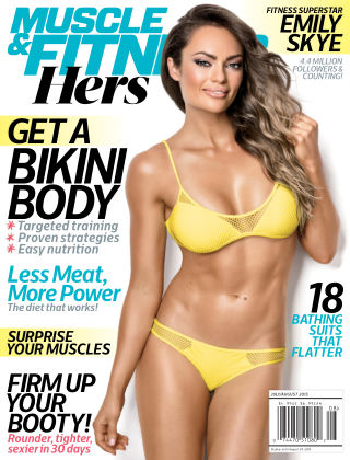 Muscle & Fitness Hers July / Aug, 2015