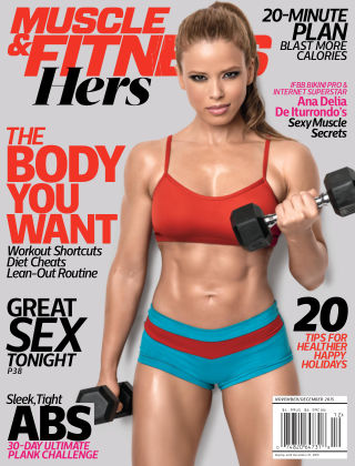 Muscle & Fitness Hers Nov / Dec, 2015