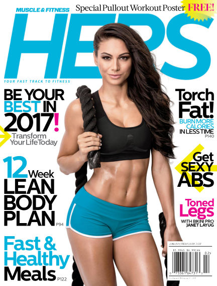Muscle & Fitness Hers December 16, 2016 00:00