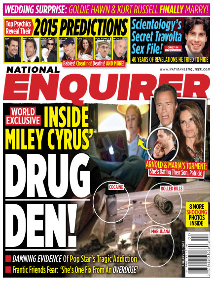 National Enquirer January 02, 2015 00:00