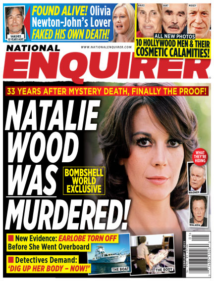 National Enquirer January 23, 2015 00:00