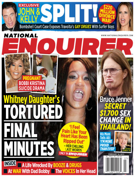 National Enquirer February 06, 2015 00:00