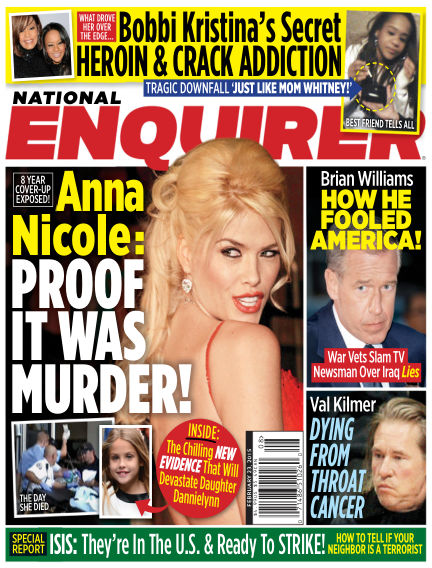 National Enquirer February 13, 2015 00:00