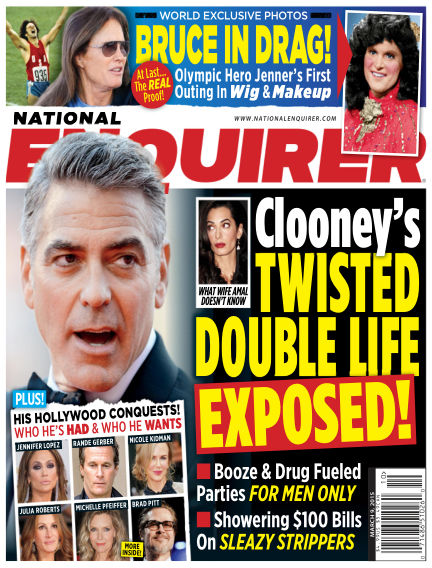 National Enquirer February 27, 2015 00:00
