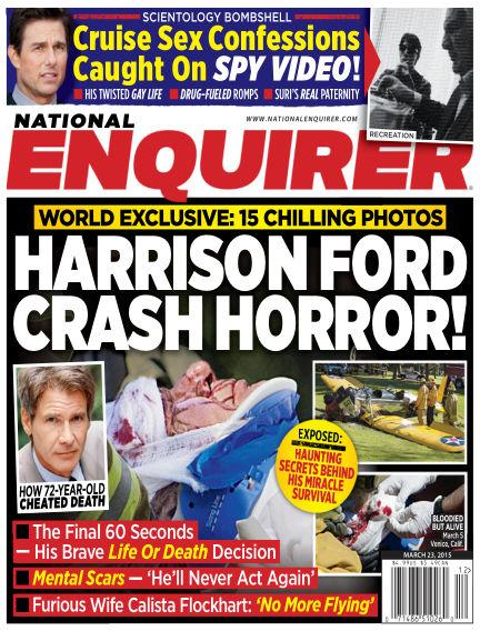 National Enquirer March 13, 2015 00:00