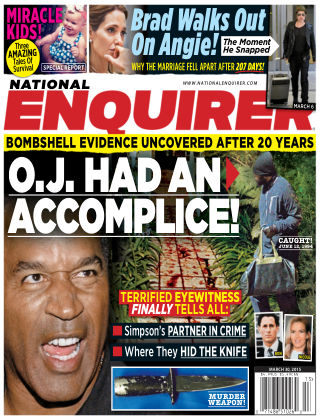 National Enquirer Issue 13, 2015