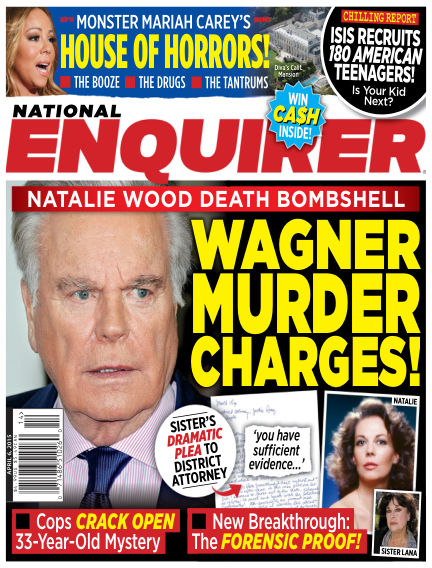 National Enquirer March 27, 2015 00:00