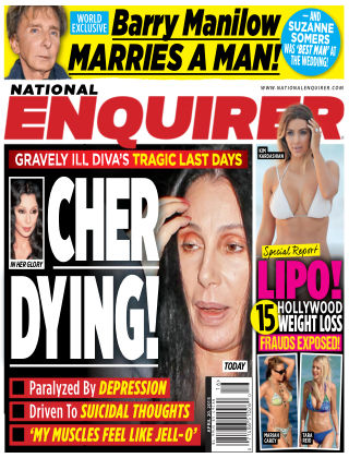 National Enquirer Issue 16, 2015