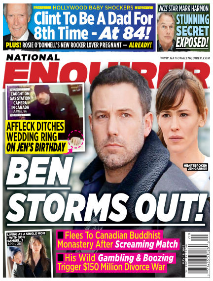 National Enquirer May 08, 2015 00:00