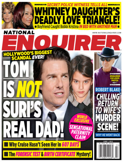National Enquirer May 22, 2015 00:00