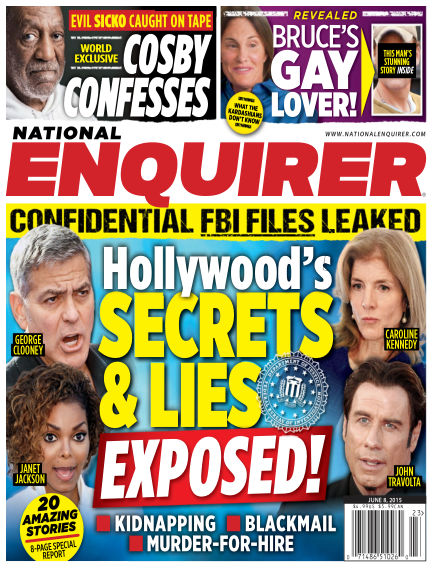 National Enquirer May 29, 2015 00:00