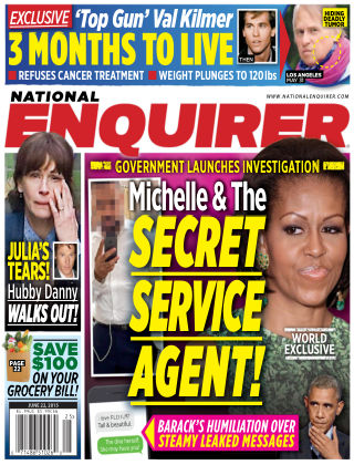 National Enquirer Issue 25, 2015
