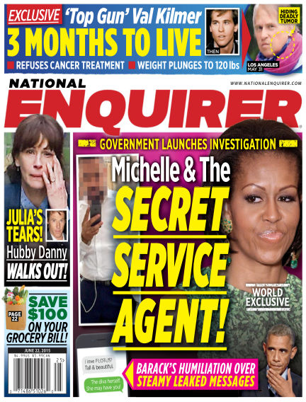 National Enquirer June 12, 2015 00:00