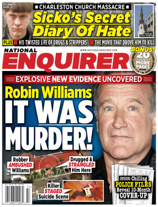 National Enquirer Issue 27, 2015