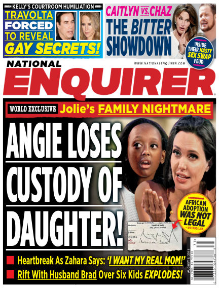 National Enquirer July 24, 2015 00:00