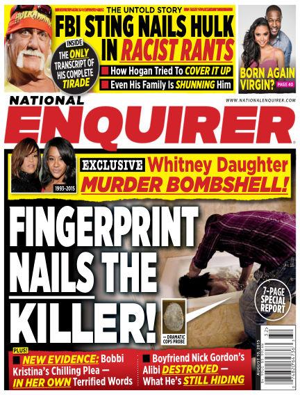 National Enquirer July 31, 2015 00:00