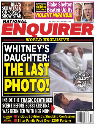 National Enquirer Issue 33, 2015