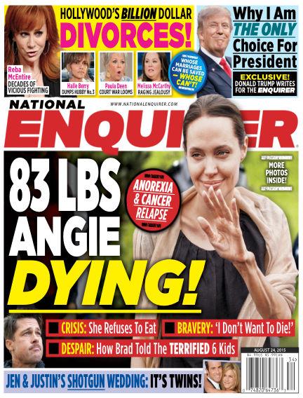 National Enquirer August 14, 2015 00:00