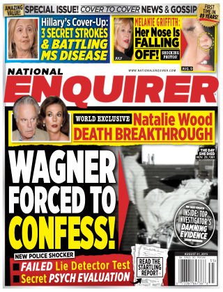 National Enquirer Issue 35, 2015