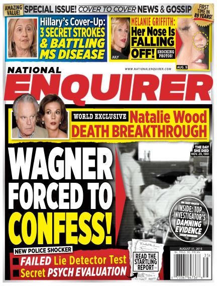 National Enquirer August 21, 2015 00:00