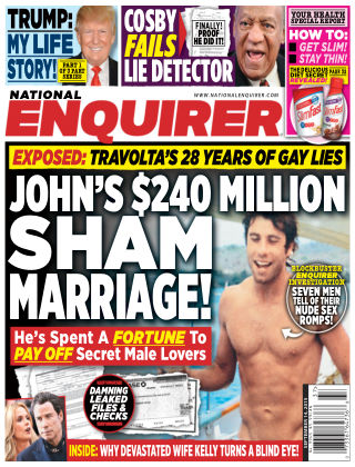 National Enquirer Issue 37, 2015