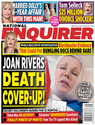 National Enquirer Issue 38, 2015